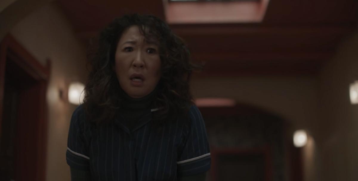 Sandra Oh in Killing Eve Season 2 finale killing Raymond