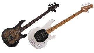 Sterling By Music Man Stingray 34HH and 34PB
