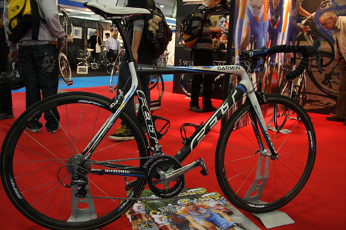 Wiggins bike, Cycle Show 2009