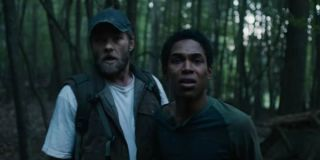 Joel Edgerton and Kevin Harrison Jr in It Comes At Night