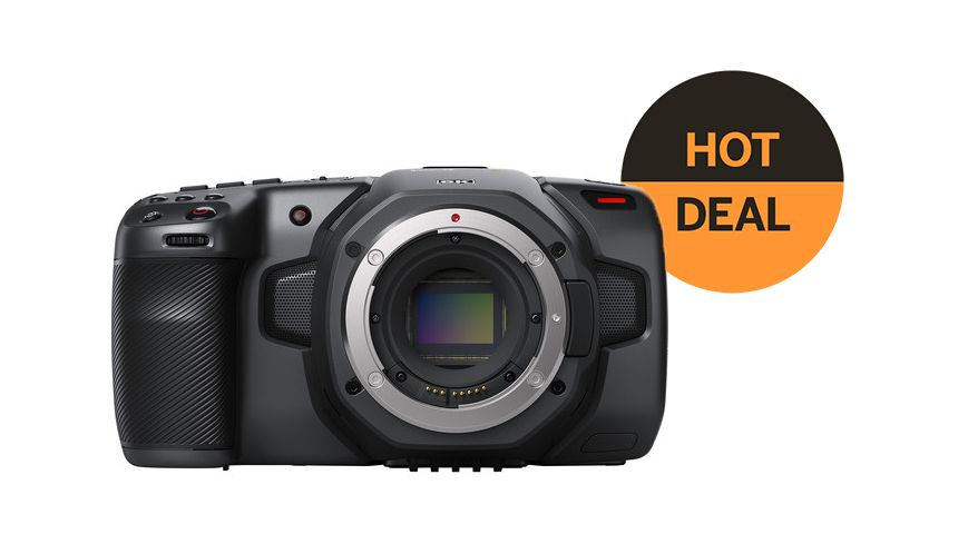 Blackmagic Design Pocket Cinema Camera 6k Gets 500 Discount Digital Camera World