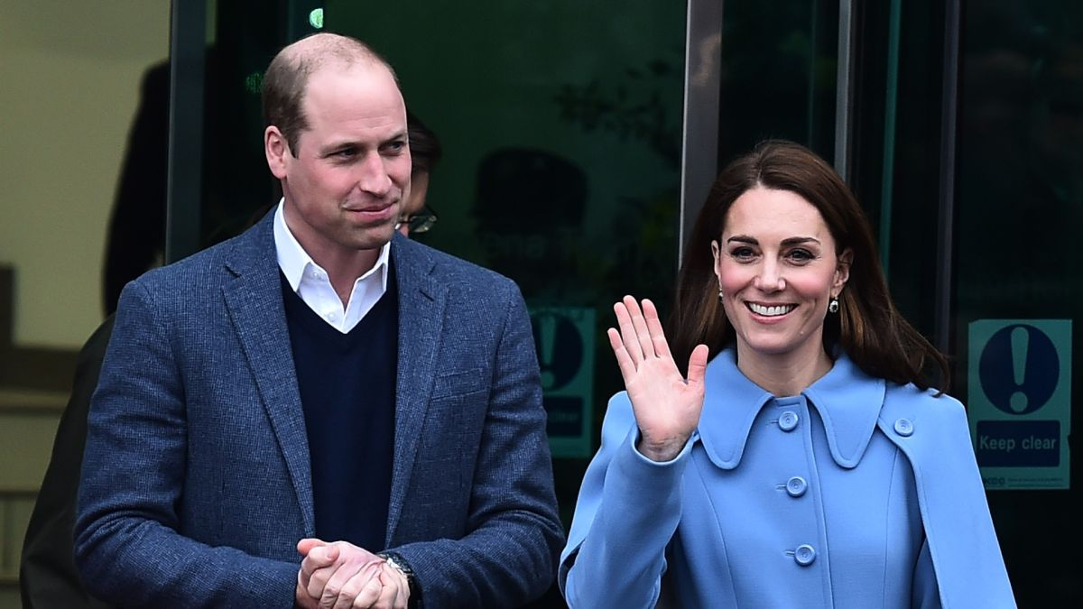 Prince William and Kate's brilliant home decor hack revealed on their latest Zoom call