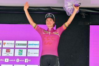 Marianne Vos (CCC-Liv) winner of the 2019 Women's WorldTour