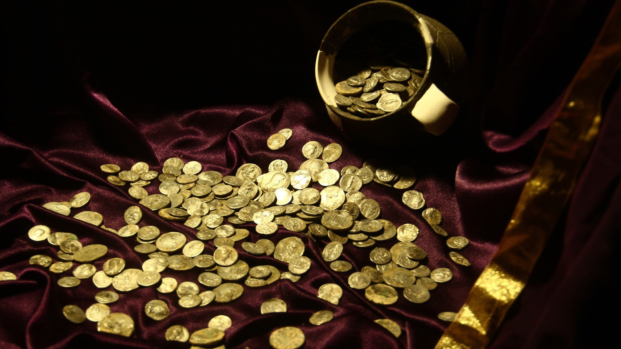 It's possible that a high-ranking soldier buried the treasure.