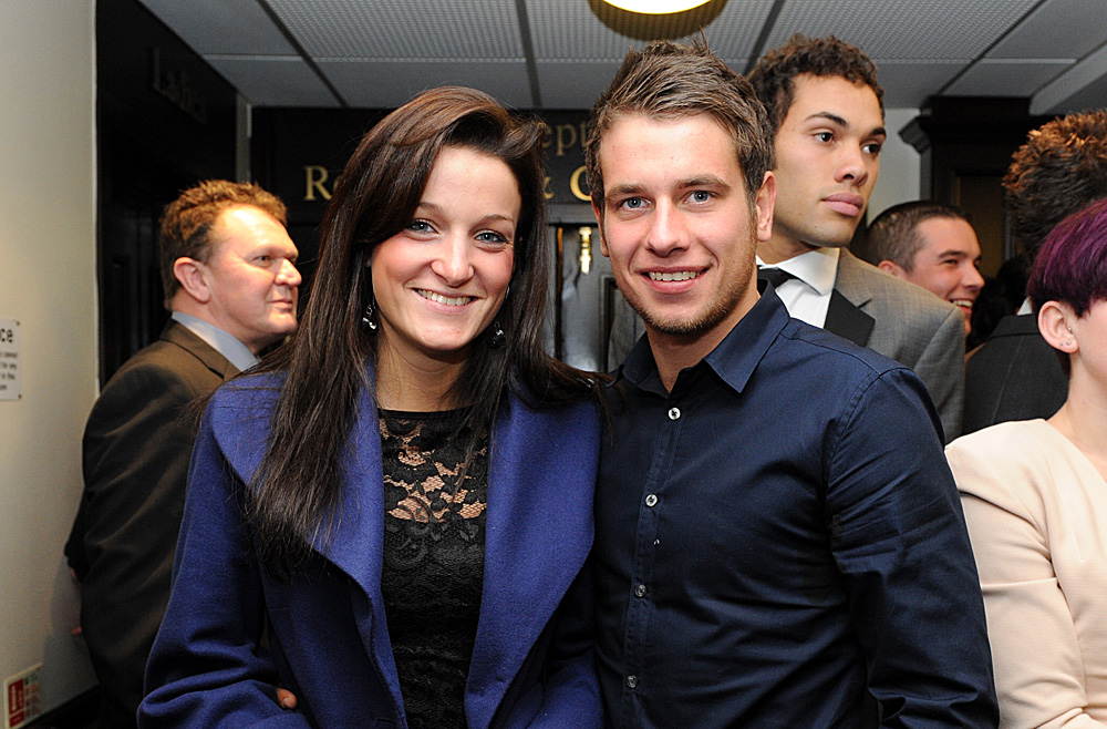 Lizzie Armitstead and Adam Blythe, Dave Rayner Dinner 2010