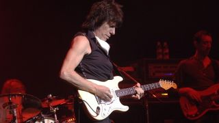 Jeff Beck white Stratocaster