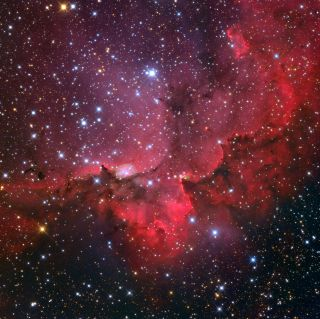 NGC 7380, the Wizard Nebula