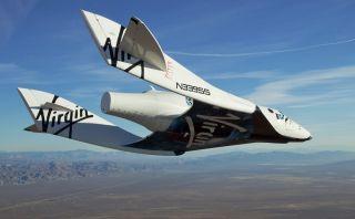 Virgin Galactic's First SpaceShipTwo