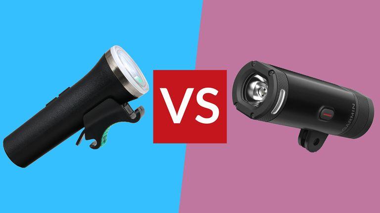 Garmin Varia UT800 vs Beryl Laserlight