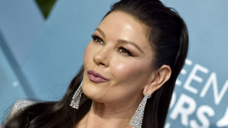 LOS ANGELES, CALIFORNIA - JANUARY 19: Catherine Zeta-Jones attends the 26th Annual Screen Actors Guild Awards at The Shrine Auditorium on January 19, 2020 in Los Angeles, California. (Photo by Axelle/Bauer-Griffin/FilmMagic)