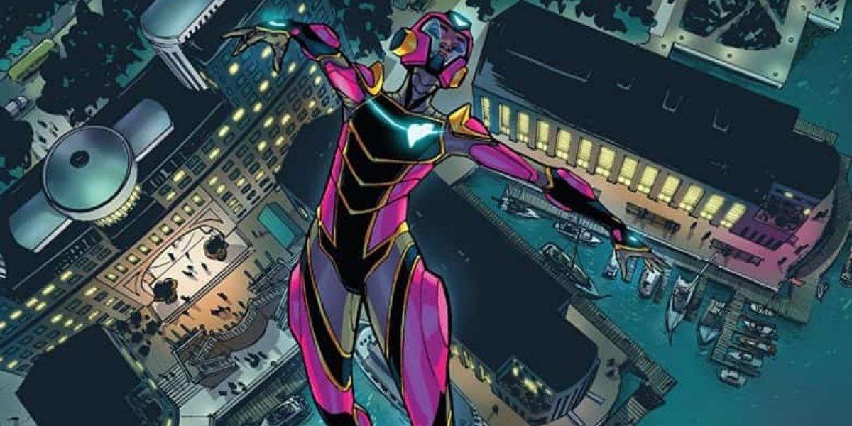 Riri Williams with her Ironheart armor