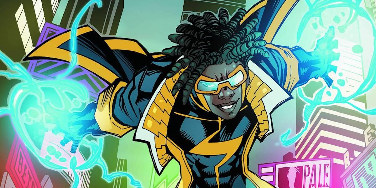 Static Shock New 52 DC Comics design