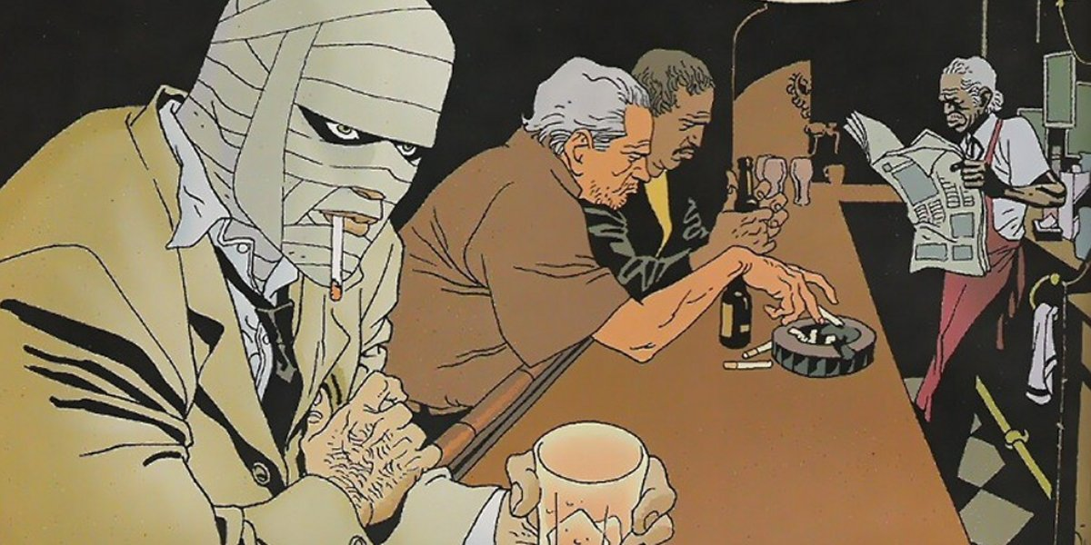 A scene from 100 Bullets