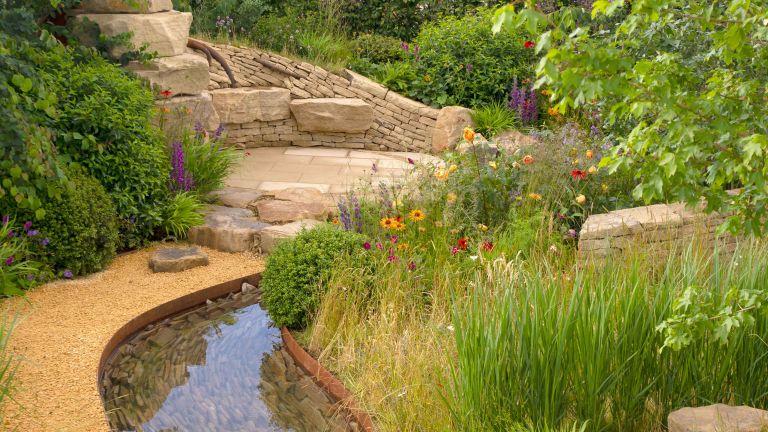 wildlife garden ideas recreating the natural landscape in a design by Helen Elks-Smith