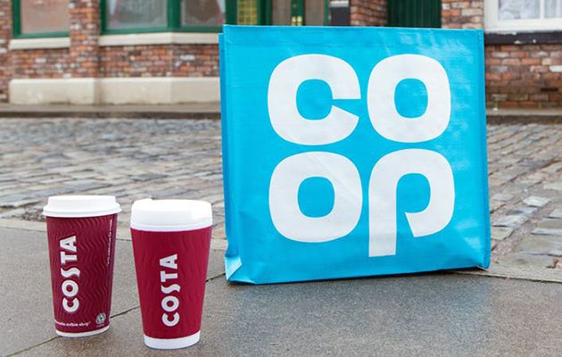 Coronation Street To Get A Costa Coffee And A Co Op