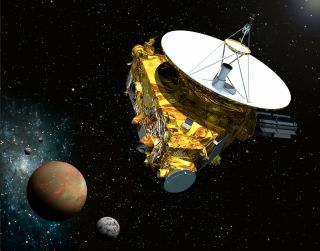 New Horizons Probe in Pluto System
