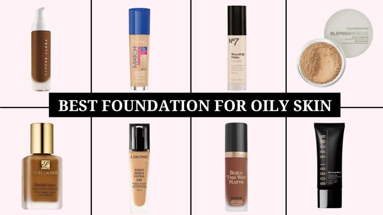 best foundation for oily skin main products