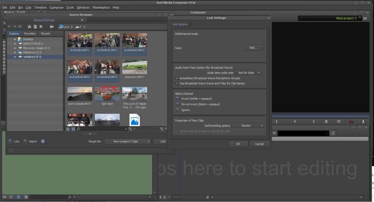 Avid Media Composer | First Review: A Free Entree into a