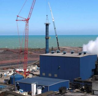 38-MW CHP System at ArcelorMittal's Steel Plant