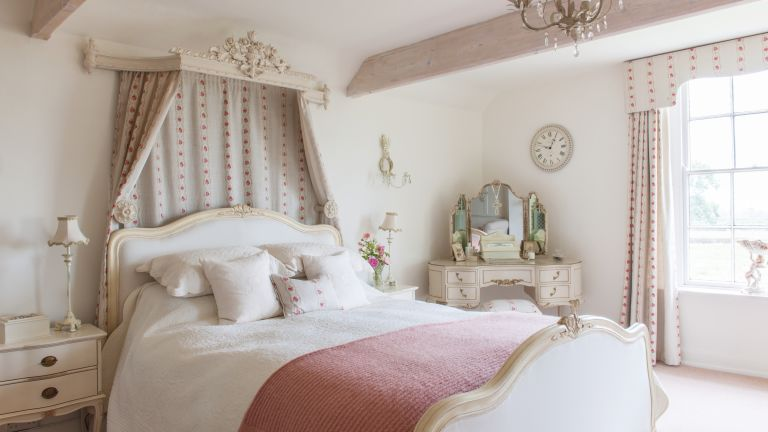 17 romantic french-style bedroom ideas | real homes