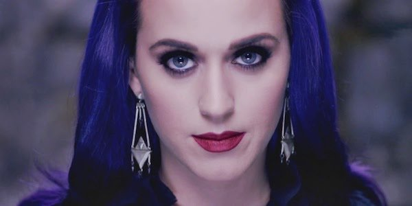 Katy Perry Wide Awake music video close up