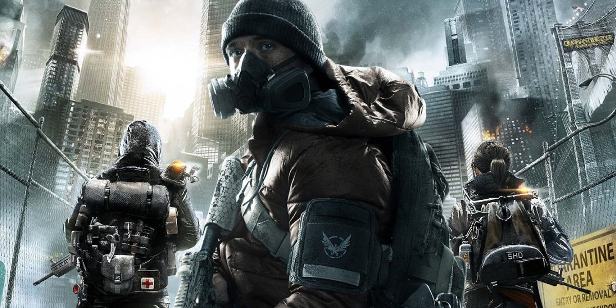 The cover art of the video game Tom Clancy's The Division