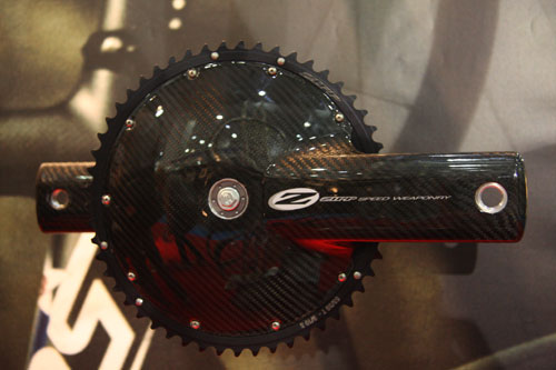 Zipp cranks, Cycle Show 2009