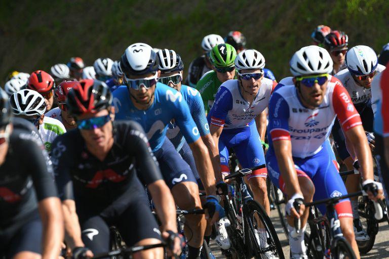 Arnaud Demare on stage 16 of the Vuelta a España