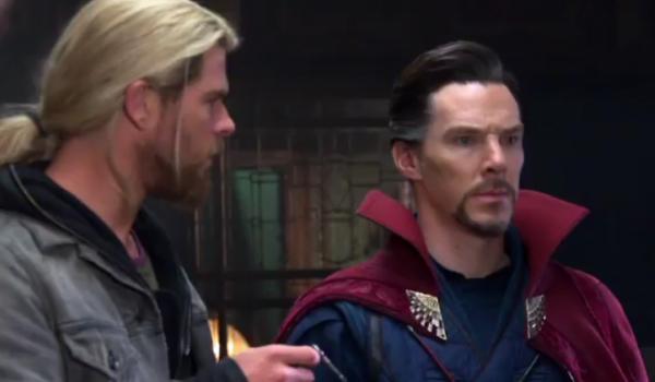 Thor Doctor Strange Benedict Cumberbatch Thor Ragnarok