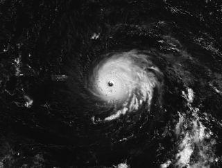 Hurricane Irma Approaching Puerto Rico