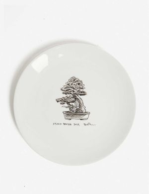 daniel arsham x wedgewood plate