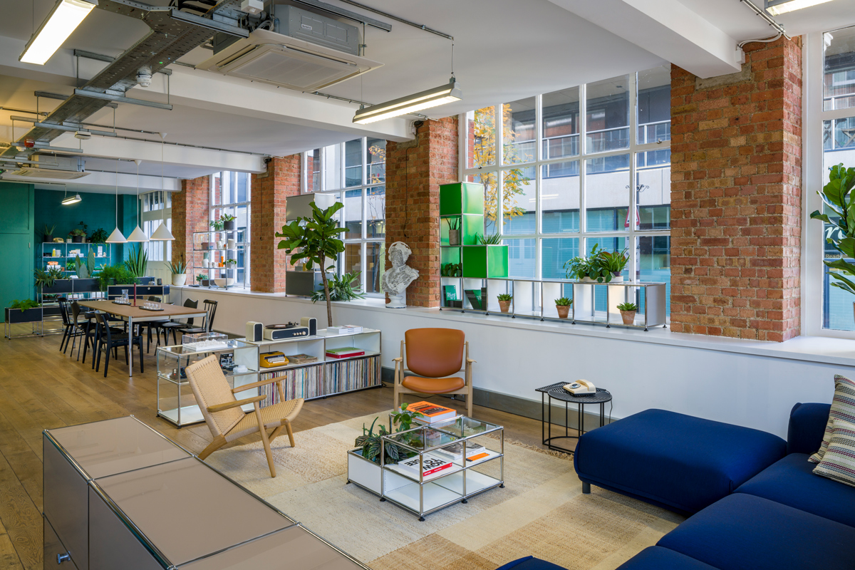 MODULAR FURNITURE BRAND USM UNVEILS ITS NEW LONDON SHOWROOM