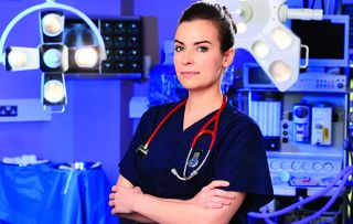 Holby City character Zosia March (played by Camilla Arfwedson)
