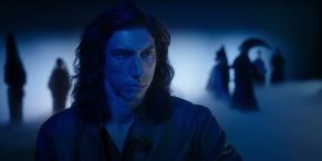 Adam Driver Actually Lights A Cigarette As Ovation For His New Movie Goes On And On