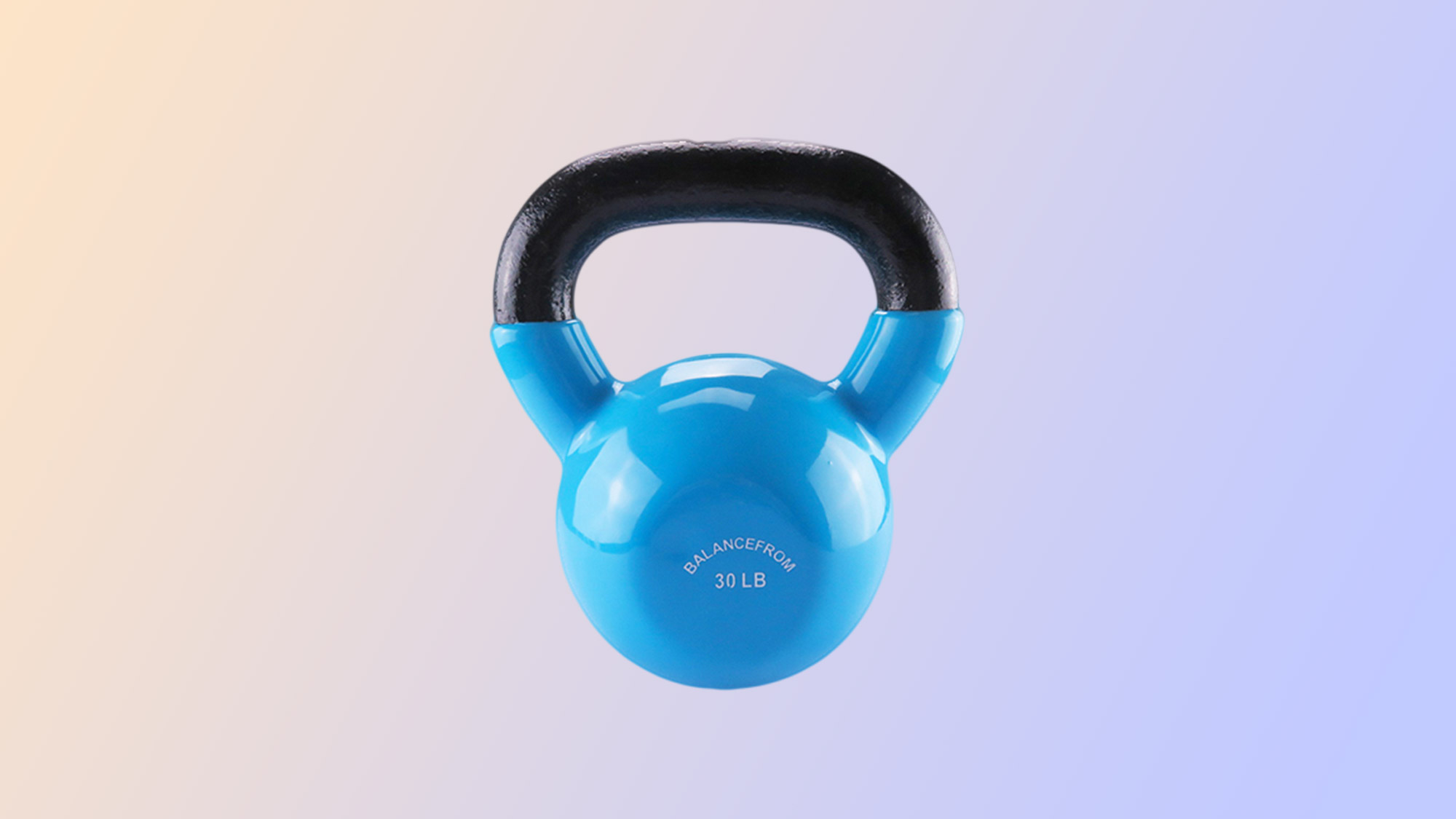 Best home gym equipment: BalanceFrom All-Purpose Color Vinyl Coated Kettlebells