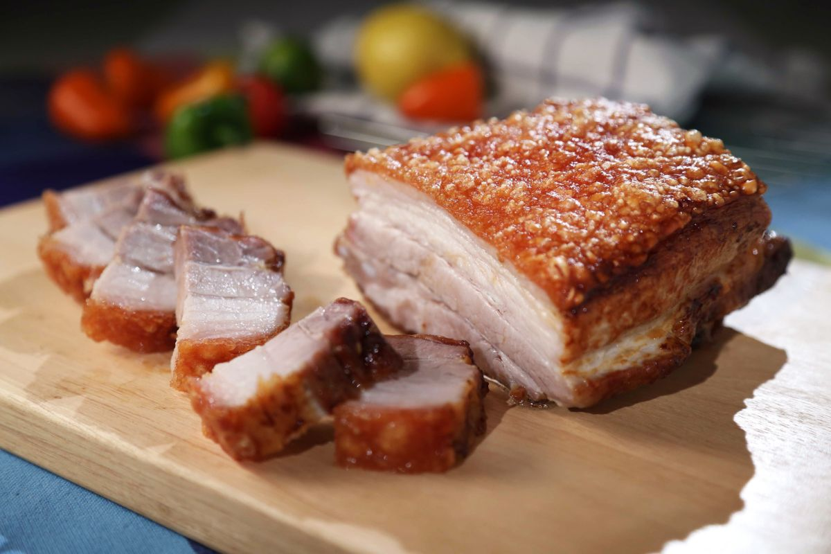This is how to roast pork