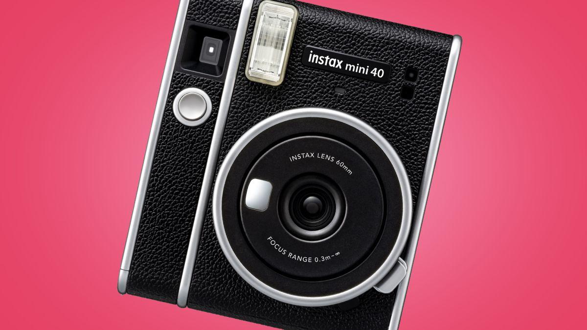 Fujifilm Instax Mini 40 might be its most desirable instant camera so far