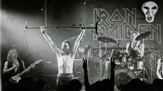 iron maiden live in their early days