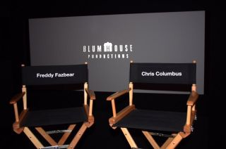 Chairs for Chris Columbus and Freddy Fazbear side by side
