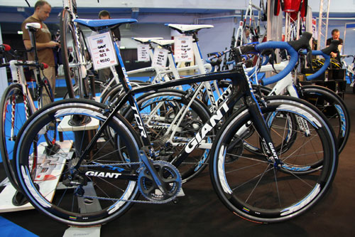 Giant TCR SL, Cycle Show 2010, Friday