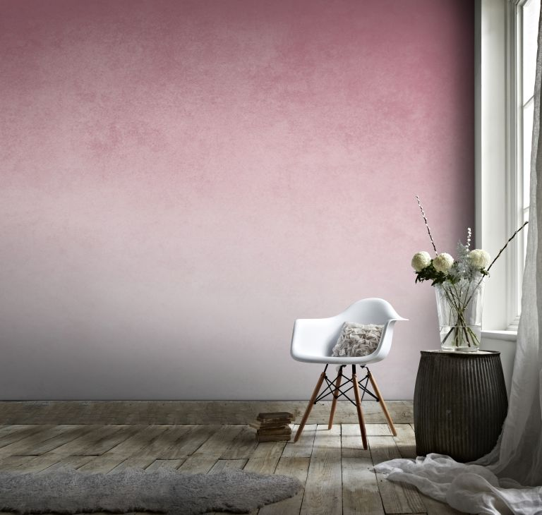 pink toned ombre effect wallpaper by graham & brown