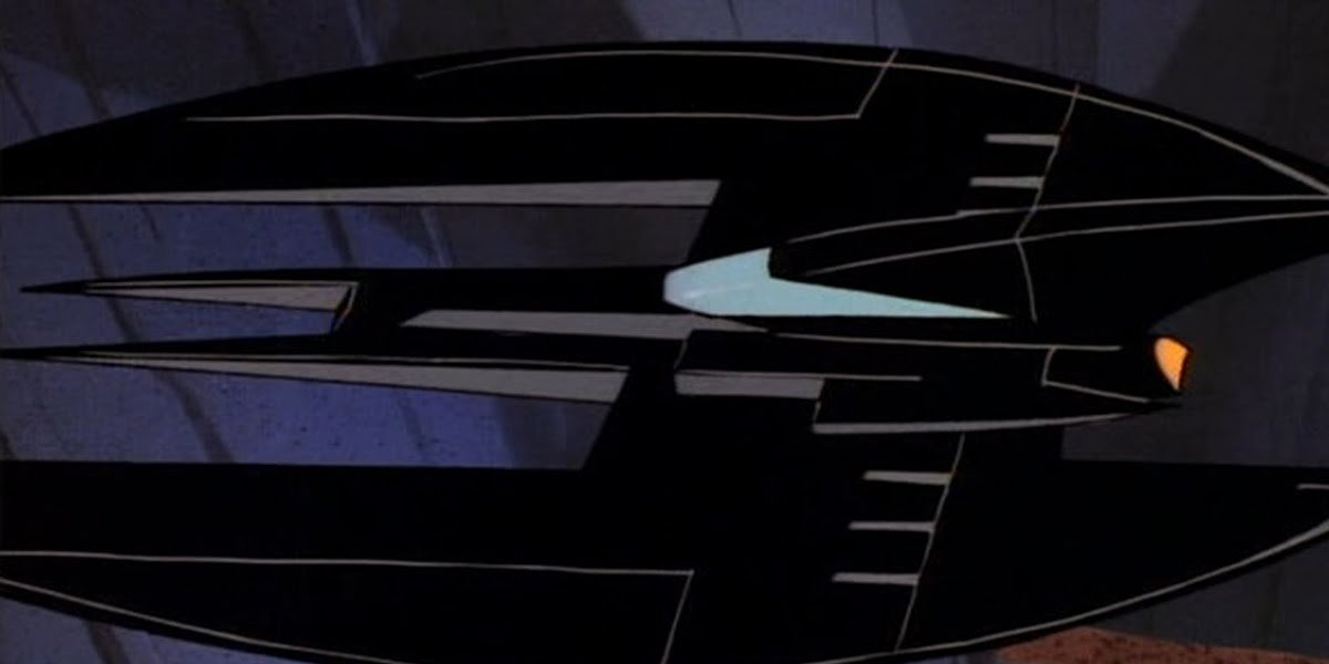 The Batwing as depicted in Batman: The Animated Series