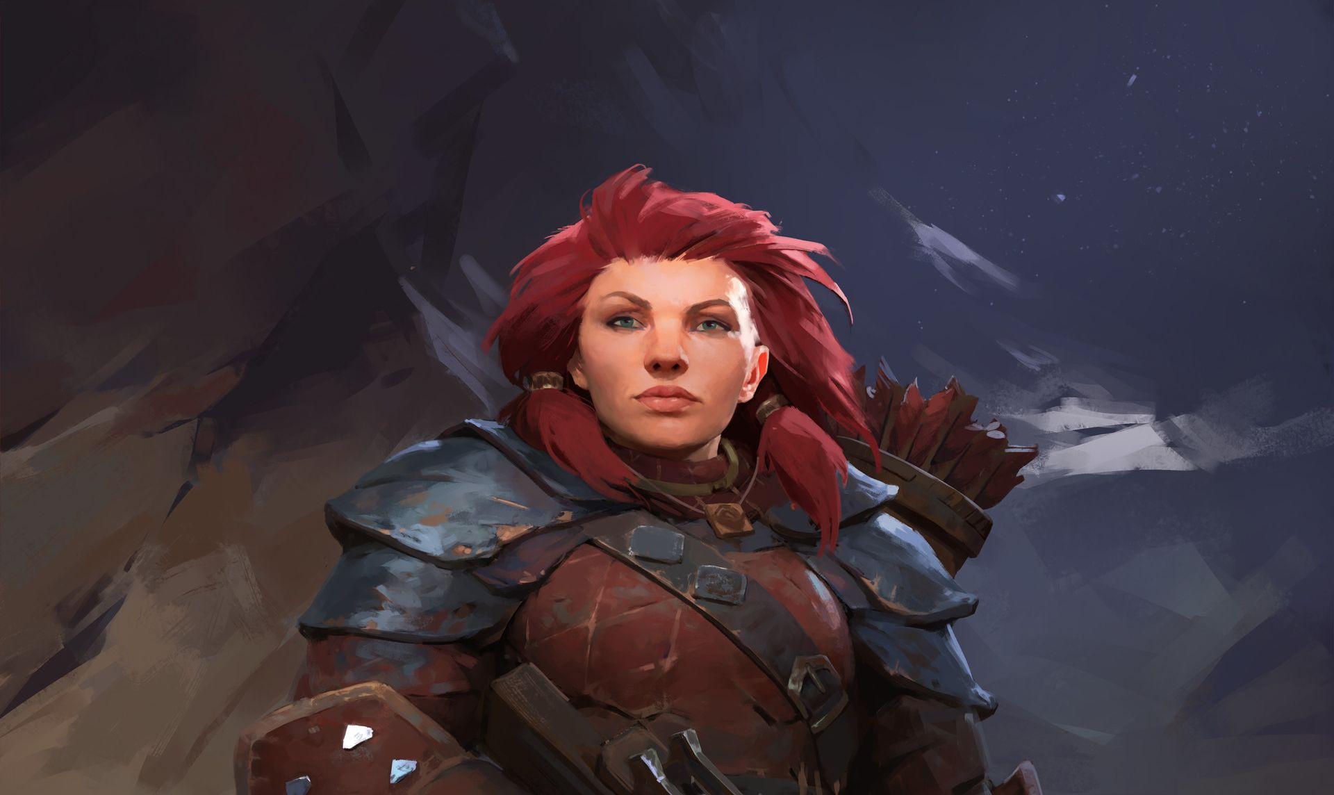 Pathfinder: Kingmaker has some nice portraits, I just wish
