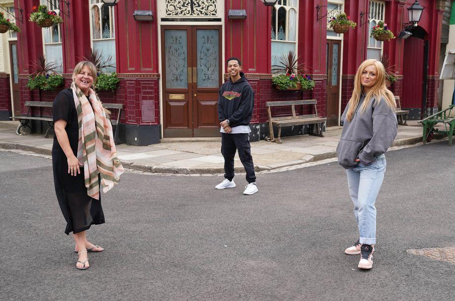 EastEnders Secrets Maisie Smith Zack Morris Lorraine Stanley