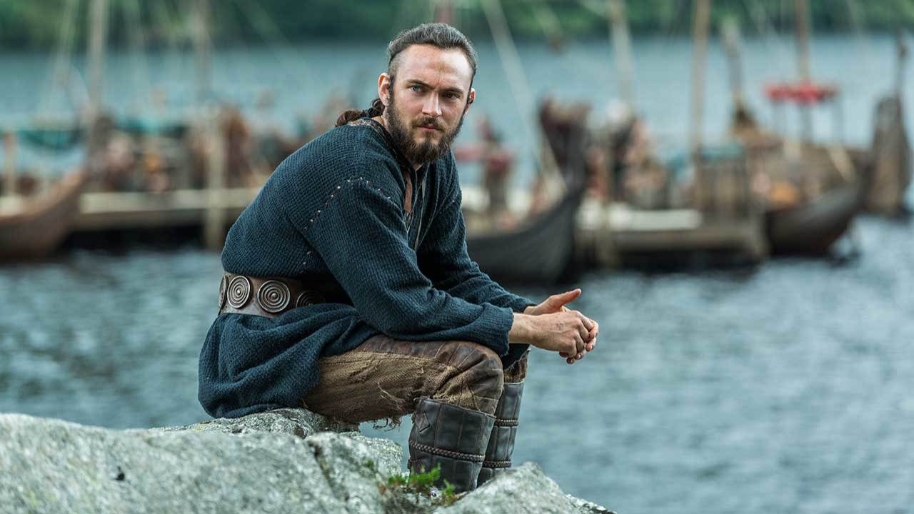 Talking to Athelstan from Vikings about spirituality and