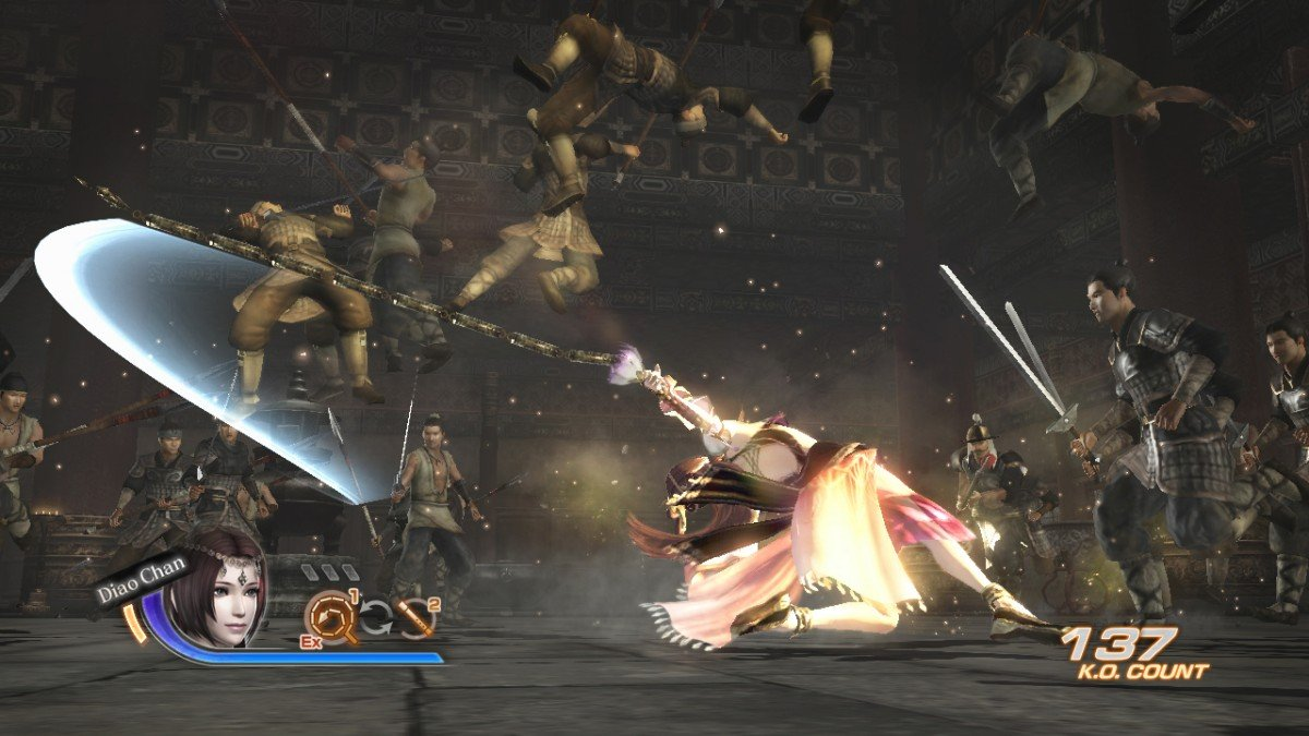 Dynasty Warriors 7 Character And Combat Screenshots #16486