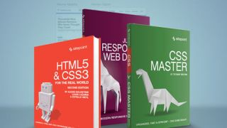 Three web development books