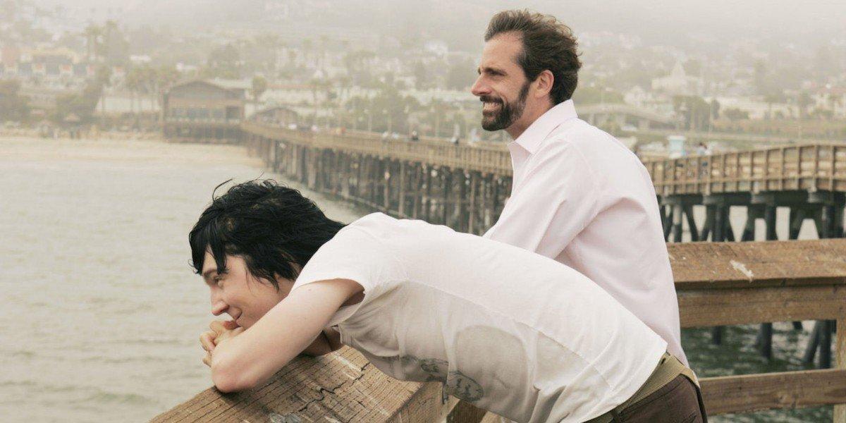 Paul Dano and Steve Carell in Little Miss Sunshine