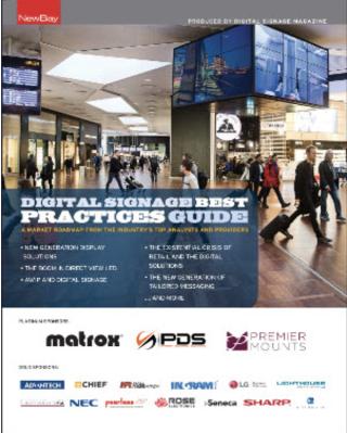Digital Signage Best Practices Guide 2017/2018