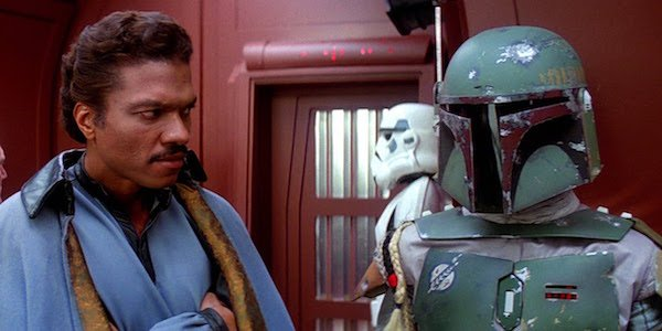 Lando and Boba in Cloud City